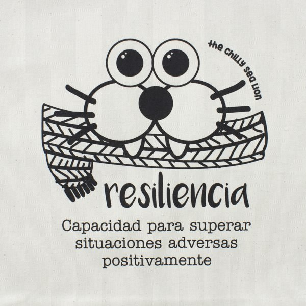 TOTE BAG Resiliencia estampado