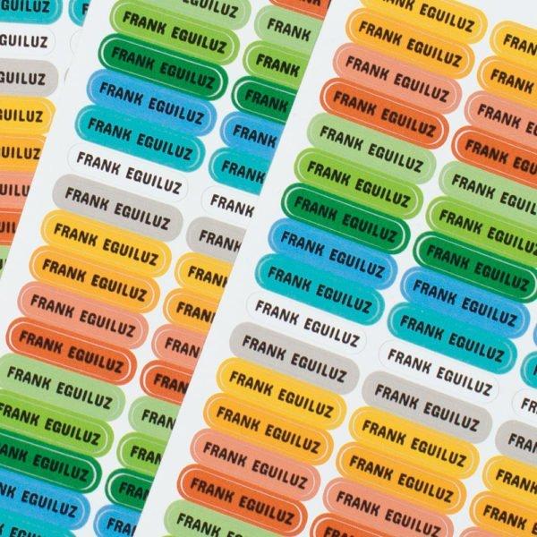 etiquetas personalizadas minis detalle