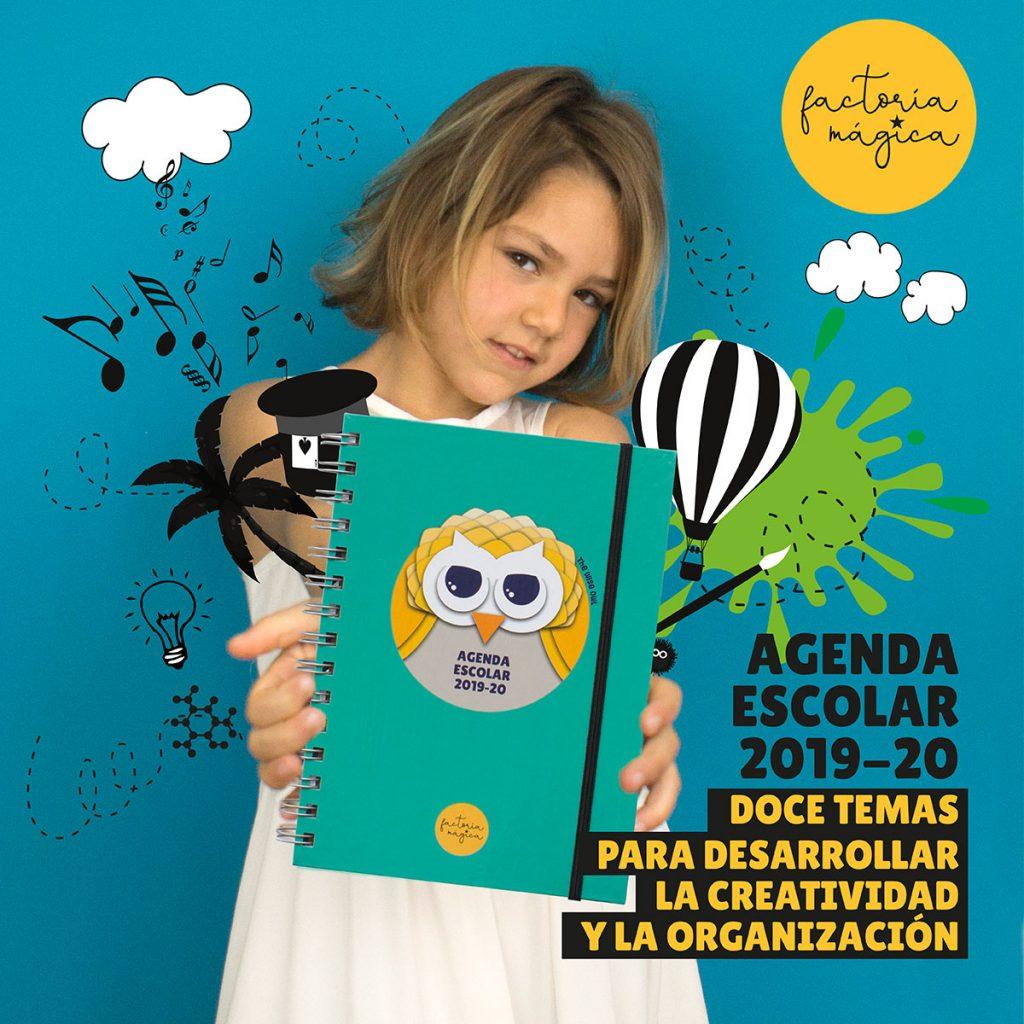 Agenda escolar 2019-20 de Factoría Mágica