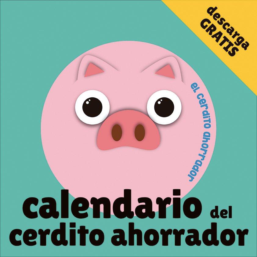 Calendario cerdito ahorrador