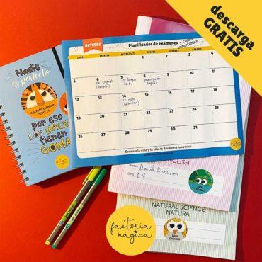 planificador de exámenes octubre