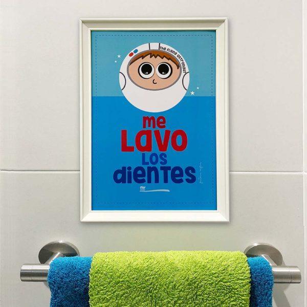 lamina baño infantil