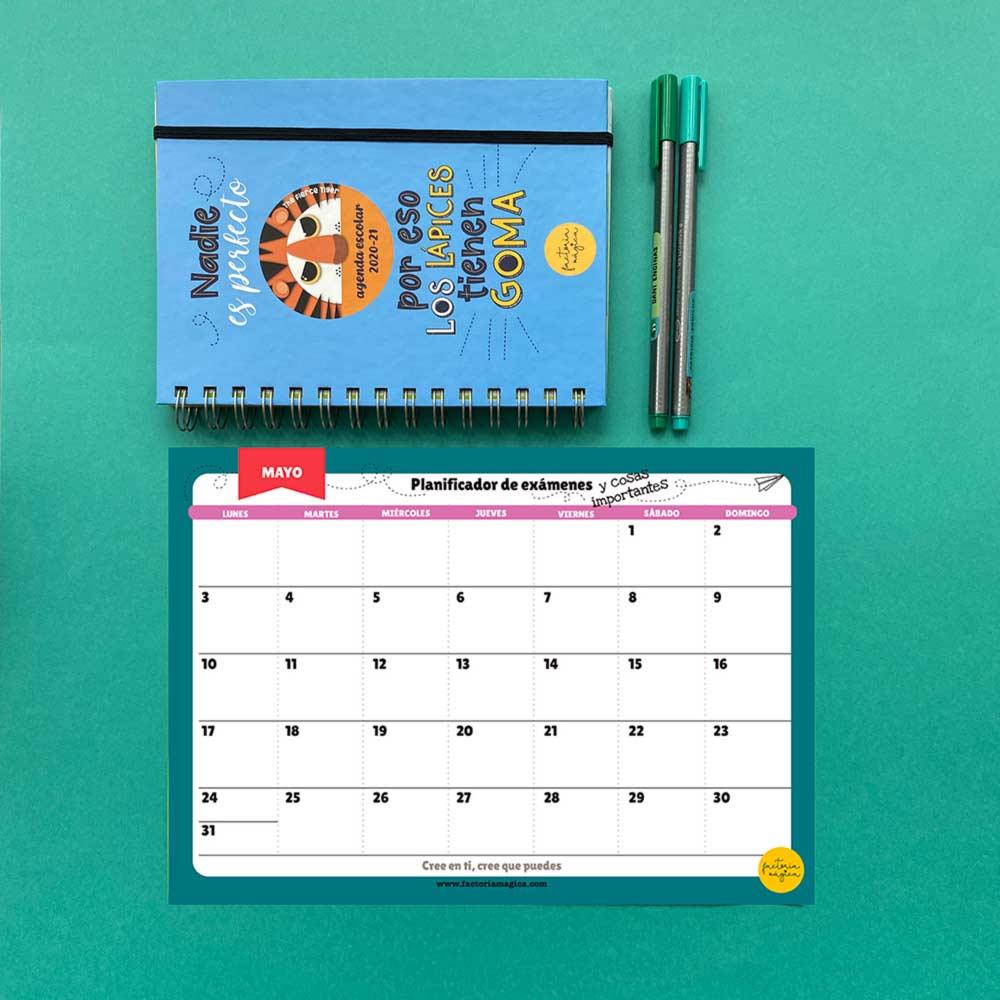 planificador mensual mayo